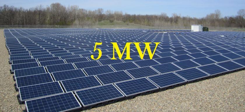 Dezembro 2016 – Venda de 5MW de sitemas fotovoltaicos fornecidos