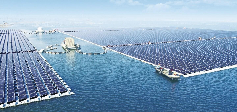 Maior usina de energia solar flutuante do mundo