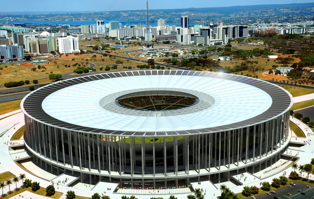 estadio mane garrincha brasilia placa solar