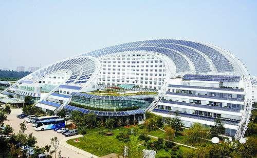 Edifício Sun dial Dezhou, China