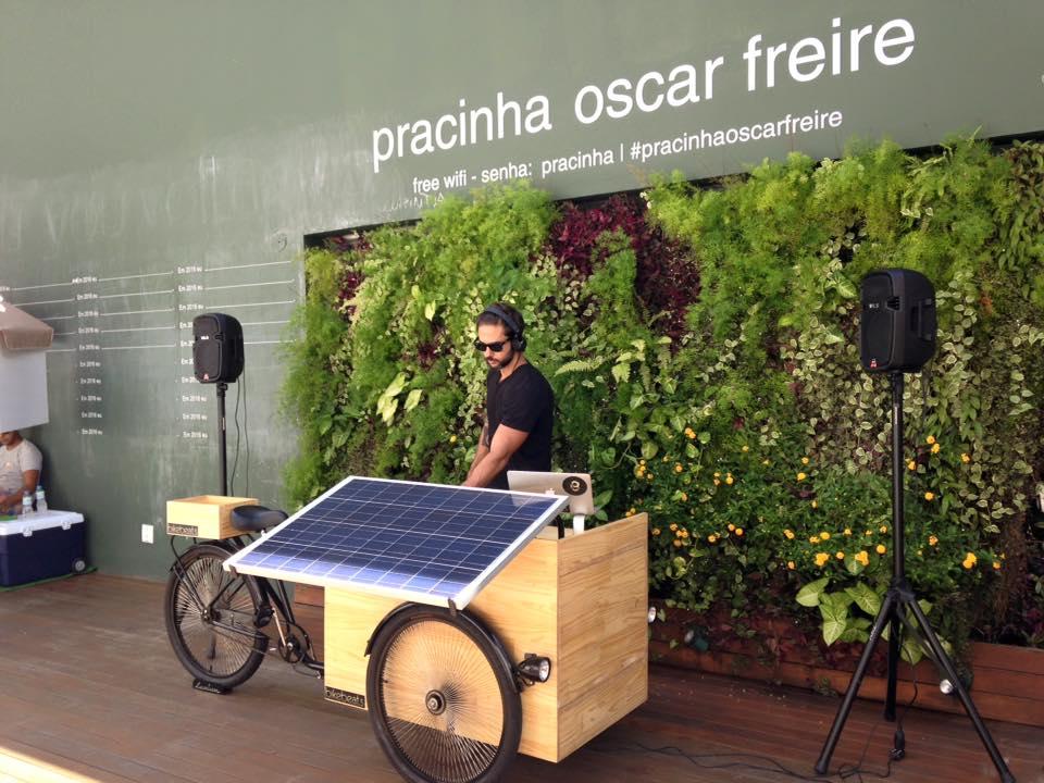 bikebeats placa solar são paulo