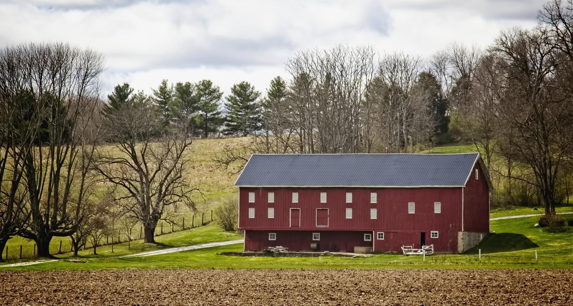 Sistemas solares em fazendas americanas