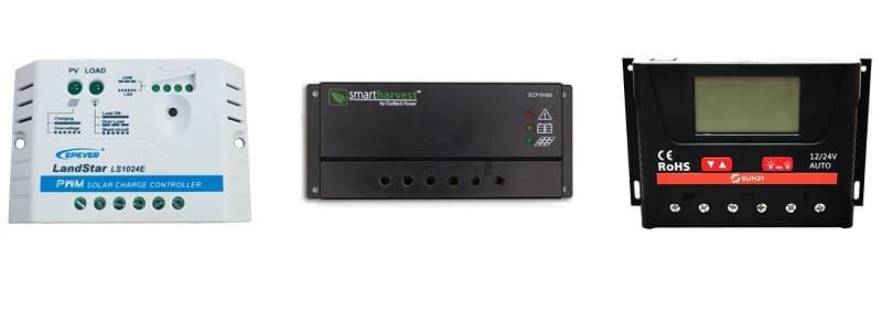 controlador de carga PWM