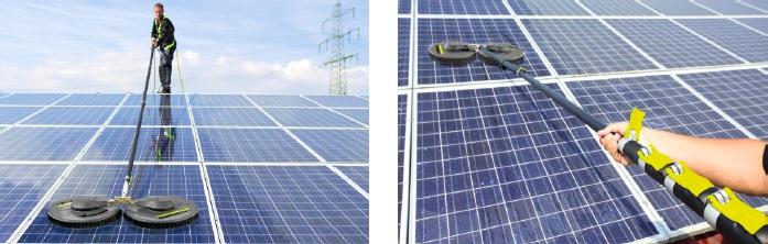 limpeza de painel solar
