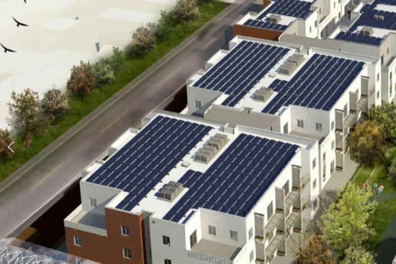 condominio com energia solar
