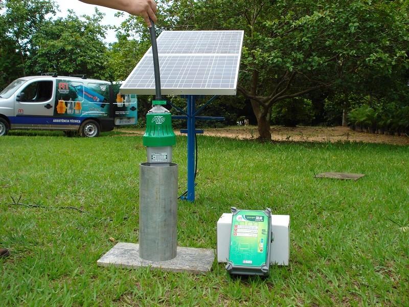 Bombeamento Solar de Água com Bomba Anauger