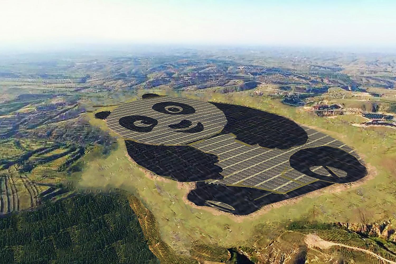Você já viu a usina solar em formato de panda da China? Conheça mais sobre ela aqui!
