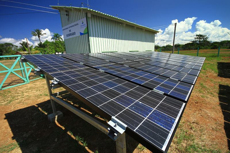 Projeto Luz Para Todos: mini usina fotovoltaica.