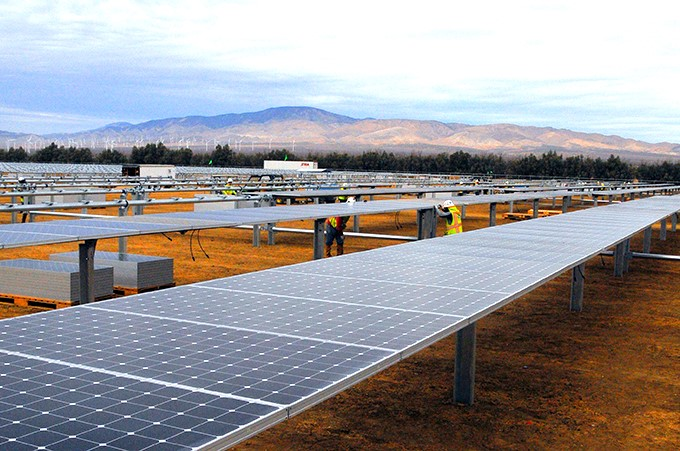 Usina Solar Star Farm